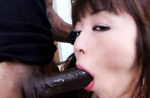 Japanese lady Marica Hase gets smashed..
