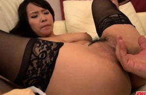 Huge-chested Saki Sudou deals the  -..