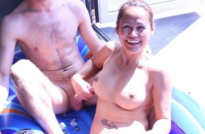 AsianSunshine and her  fucktoy
