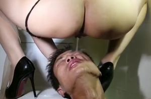 Japanese gimp enjoy dame