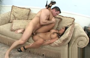 Giant Boobies Chinese Stunner Pounded..