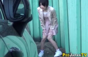 asians pee drench their super-cute..