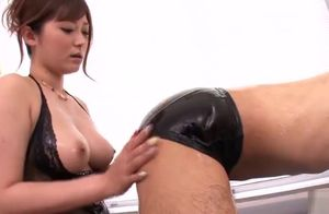 Taunting huge-chested Asian mother..