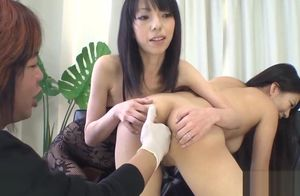 Oriental cum-hole and assfuck penetrate
