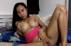 Immense breasts thai lady with botox..
