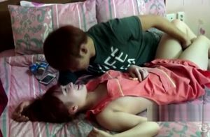 Astonishing lovemaking sequence Asian..