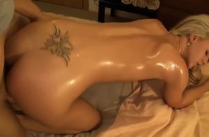 AMWF Blond Nathaly fumbled and creampied