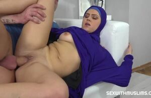 Vain muslim lady pulverized back to..