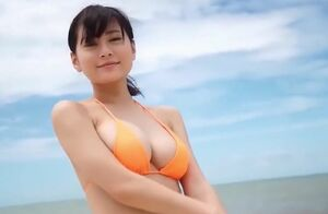 Rin Tachibana orange Bathing suit [..