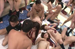 Uncensored Asian lovemaking   with..