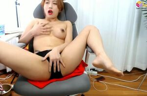 Amateur, asian, solo, webcams, korean