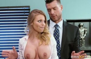 Office Bi-atch Gets a Firm Buttfuck..